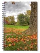Autumn Tale Spiral Notebook