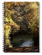 Autumn Trees 3 Spiral Notebook