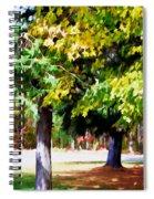 Autumn Trees 7 Spiral Notebook