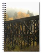 Autumn Trestle Spiral Notebook