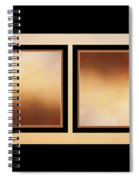 Autumn Up And Down Spiral Notebook