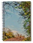Autumn Up Hill Spiral Notebook