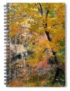 Autumn Vintage Landscape 6 Spiral Notebook