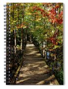 Autumn Walk Spiral Notebook