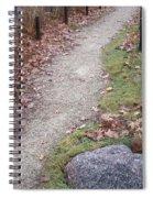 Autumn Walk Spiral Notebook
