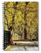 Autumn Walkway Spiral Notebook