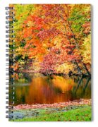 Autumn Warmth Spiral Notebook