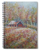 Autumn Whisper. Spiral Notebook