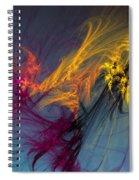 Autumn Winds Spiral Notebook