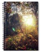 Autumn Woodland Spiral Notebook