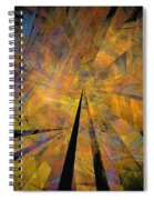 Autumnal Spiral Notebook