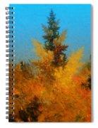 Autumnal Forest Spiral Notebook