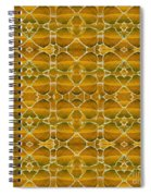 Autumnal In Earth Tones Spiral Notebook