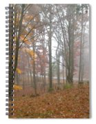 Autumnal Mist Spiral Notebook