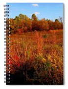 Autumns Field Spiral Notebook