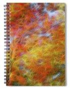 Autumn's Fire Spiral Notebook