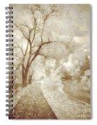 Autumn's Last Breath Spiral Notebook