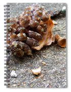 Autumn's Leftovers Spiral Notebook