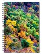 Autumn's Palette Spiral Notebook