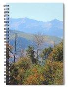 Autumns Telltale Signs  Spiral Notebook