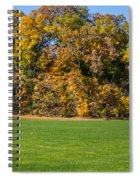 Autumn's Wall Spiral Notebook