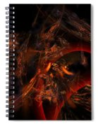 Autums Winds 2 Spiral Notebook