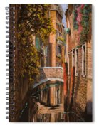 autunno a Venezia Spiral Notebook