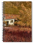 Autunno Rosso Spiral Notebook