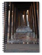 Avalon Pier At 32nd Street Spiral Notebook