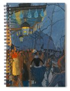 Avenue De Clichy. Five O'clock In The Evening Spiral Notebook