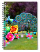 Avenue Of Dreams 10 Spiral Notebook