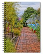 Avenue Of Dreams 5 Spiral Notebook