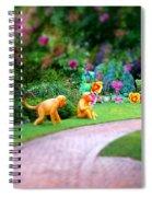 Avenue Of Dreams 9 Spiral Notebook