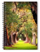 Avenue Of Oaks 2 I Am The Way Spiral Notebook