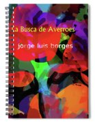 Averroes's Search Borges Poster Spiral Notebook