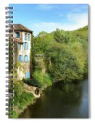 Aveyron River In Saint-antonin-noble-val Spiral Notebook
