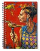 Aviary Queen Spiral Notebook