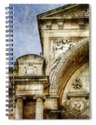 Avignon Opera House Muse 1 - Vintage Version Spiral Notebook
