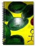 Avocado Man Spiral Notebook
