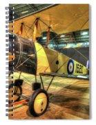 Avro 504k Spiral Notebook