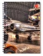 Avro Cf-100 Mk Iv Canuck Spiral Notebook