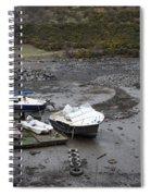 Awaiting A Tide Spiral Notebook
