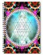 Awakening Of Sri Yantra Spiral Notebook