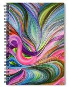 Awakening 1. Version 3.  Spiral Notebook