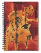 Axeman 3 Spiral Notebook