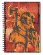 Axeman 5 Spiral Notebook