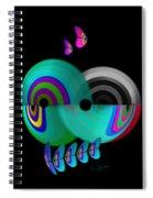 Axis Web Spiral Notebook