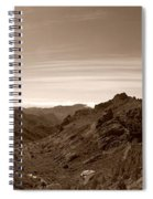 Ayacata And Roque Nublo Spiral Notebook