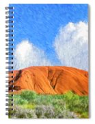 Ayers Rock Spiral Notebook