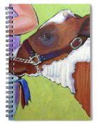 Ayrshire Show Heifer Spiral Notebook